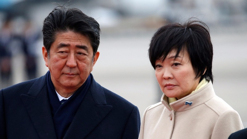 Scandal on two fronts as Shinzo Abe looks ahead