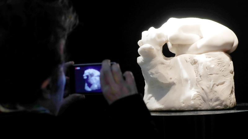 Rodin marble masterpiece up for auction