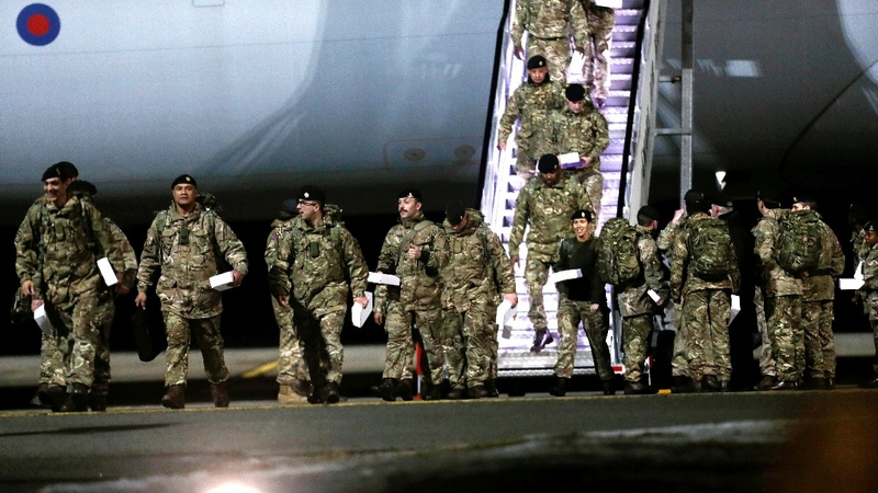 Over 120 British soldiers arrive in Estonia