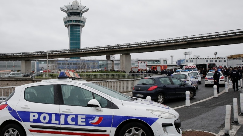 French shooting suspect known to authorities