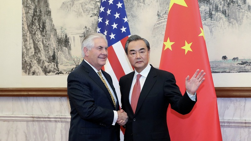 U.S. and China vow cooperation to rein in Pyongyang