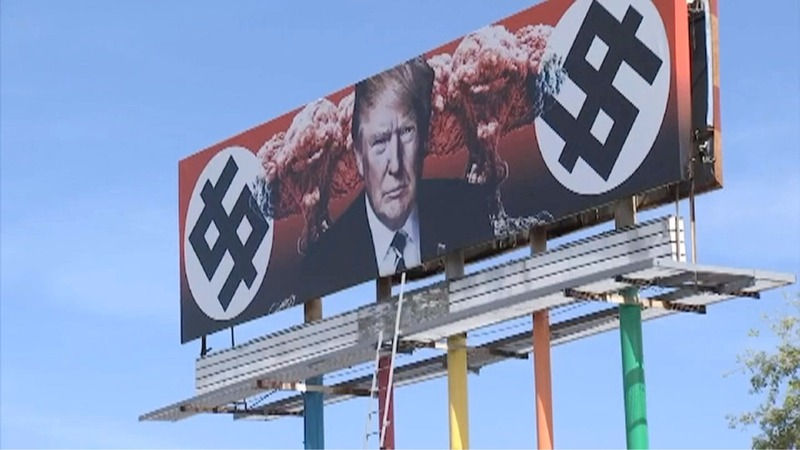 Anti-Trump mural stirs controversy in Arizona
