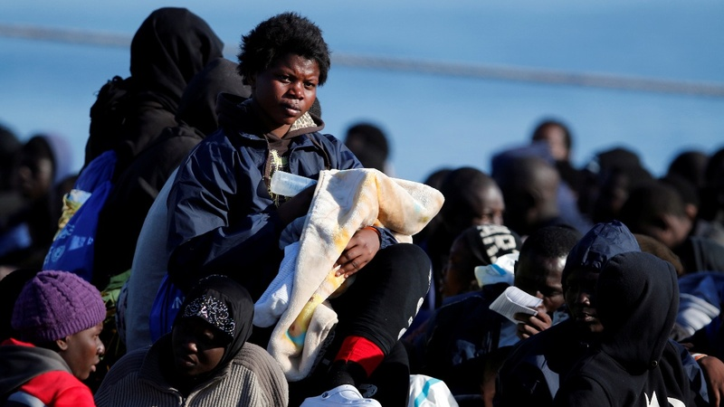 INSIGHT: 1,400 rescued migrants arrive in Italy