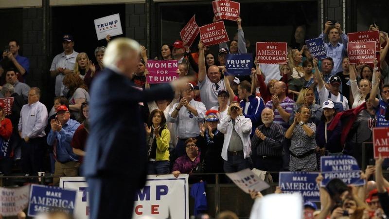 VERBATIM: Trump fires up crowd in Kentucky