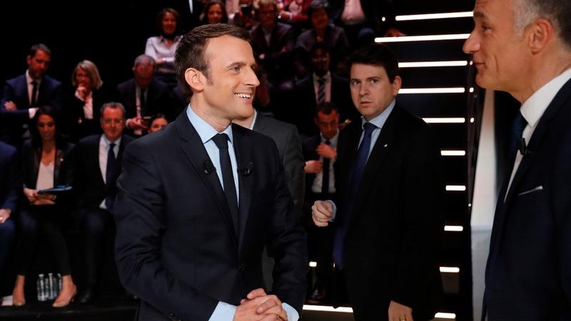 Macron tipped as French debate winner