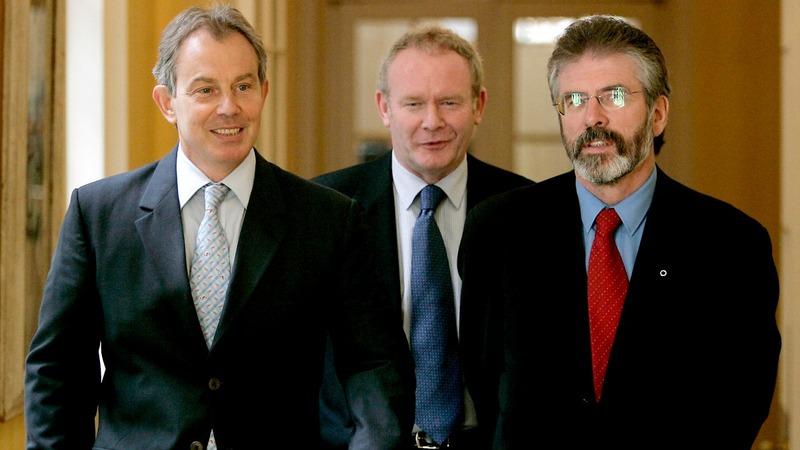 VERBATIM: McGuinness integral for N.Ireland -Blair