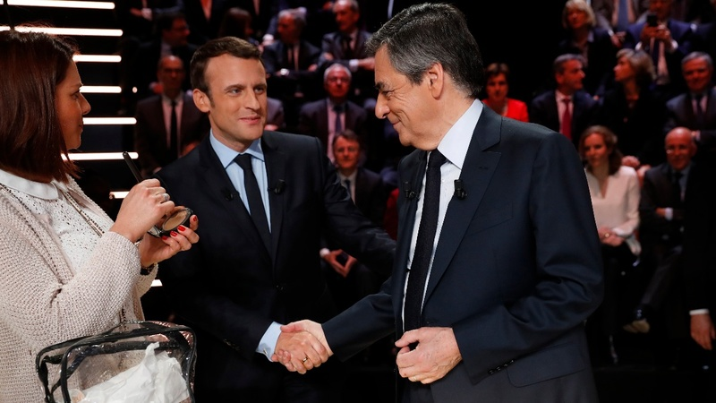Macron builds momentum after debate win