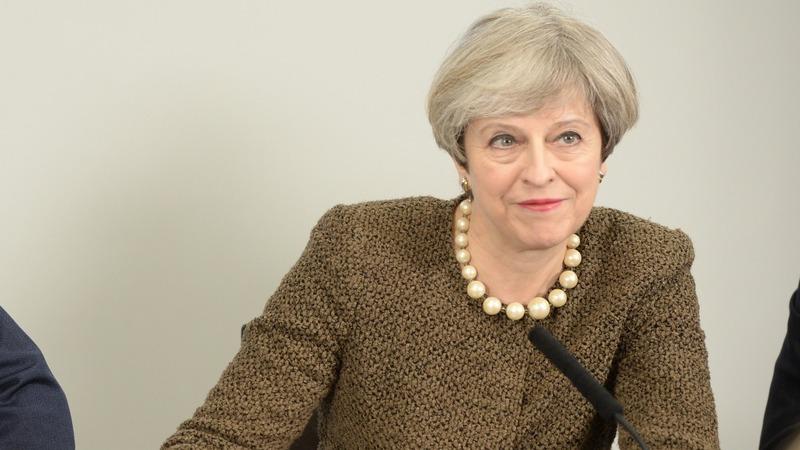 Theresa May profiled by Vogue magazine