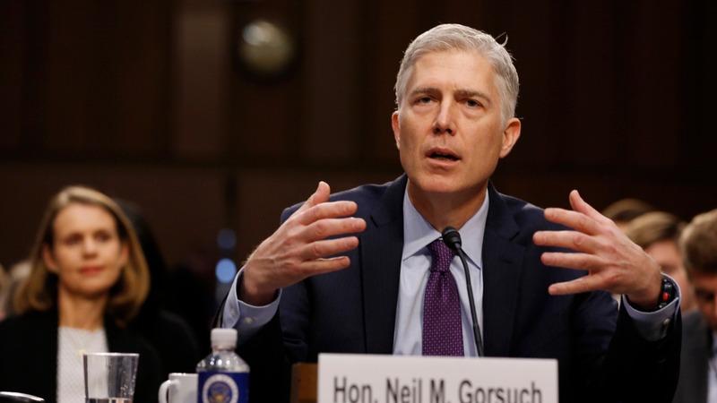 VERBATIM: Gorsuch denies he'd pre-judge Trump's travel ban