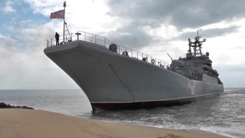 INSIGHT: Russia shows muscle in annexed Crimea