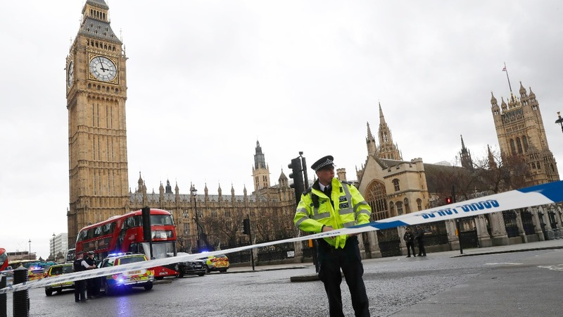 UK parliament in lockdown after 'terrorist incident'