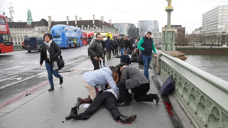 UK parliament in lockdown after 'terrorist incident'