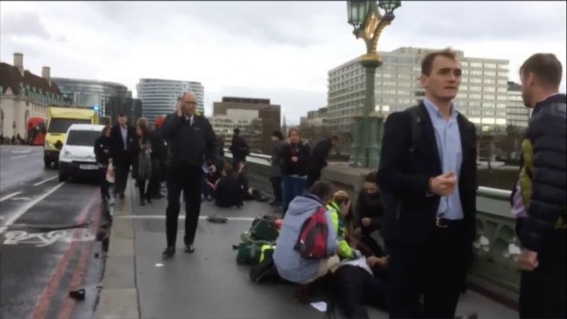 5 dead in UK parliament 'terrorist attack'