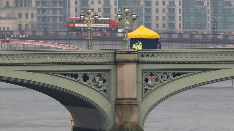 Four dead and 40 injured in Westminster attack