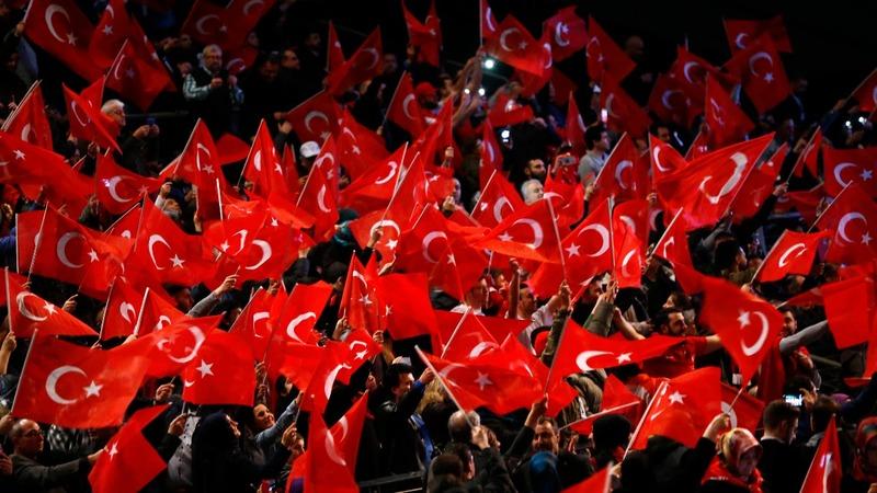 Turkey will review EU ties after April vote - Erdogan