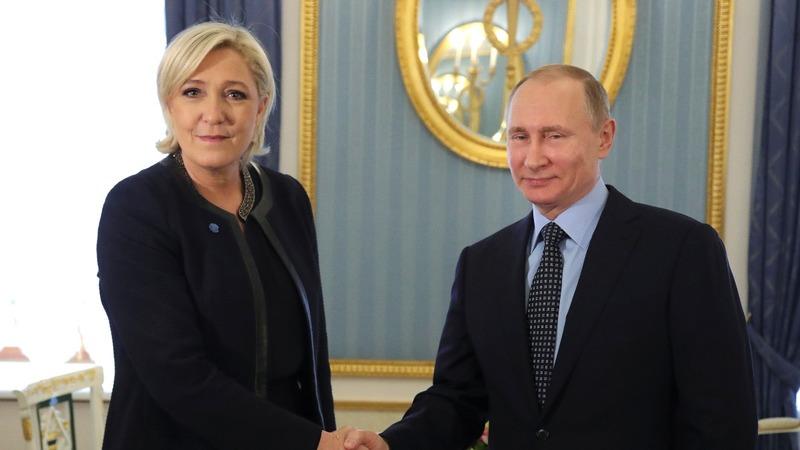 Russia's Putin meets admirer: France's Le Pen