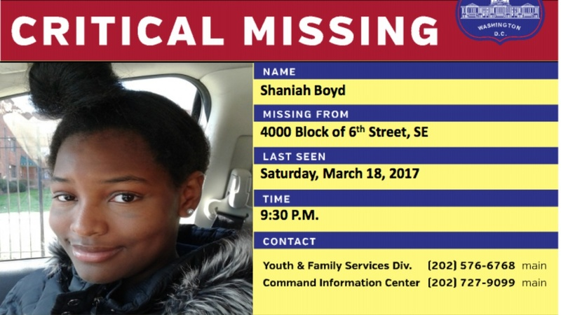 Black lawmakers ask DOJ to investigate missing DC teens