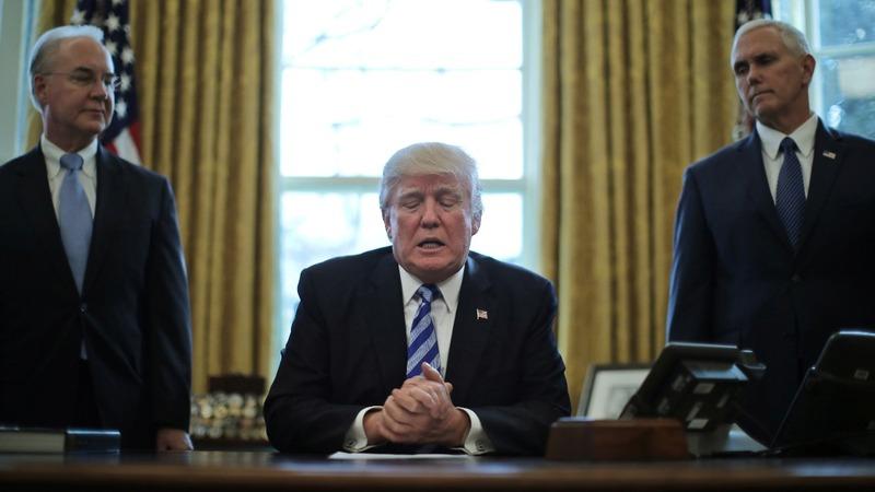 VERBATIM: Trump says Democrats 'own Obamacare'