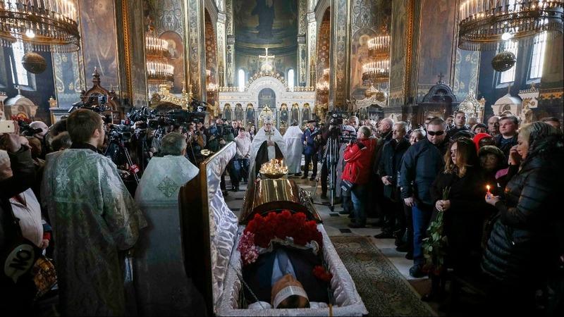 Memorial held for slain Russian lawmaker