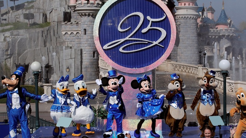 INSIGHT: Disneyland Paris celebrates 25 years