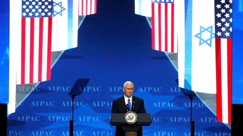 VERBATIM: Pence highlights Trump's loyalty to Israel