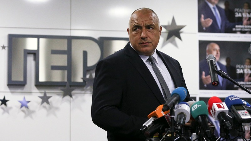 Bulgaria's centre-right edges election win