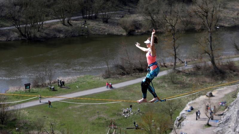 INSIGHT: Highline season opens in Czech Republic