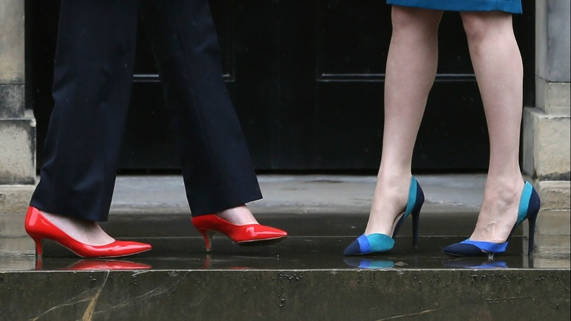 In the UK, women with legs make policy