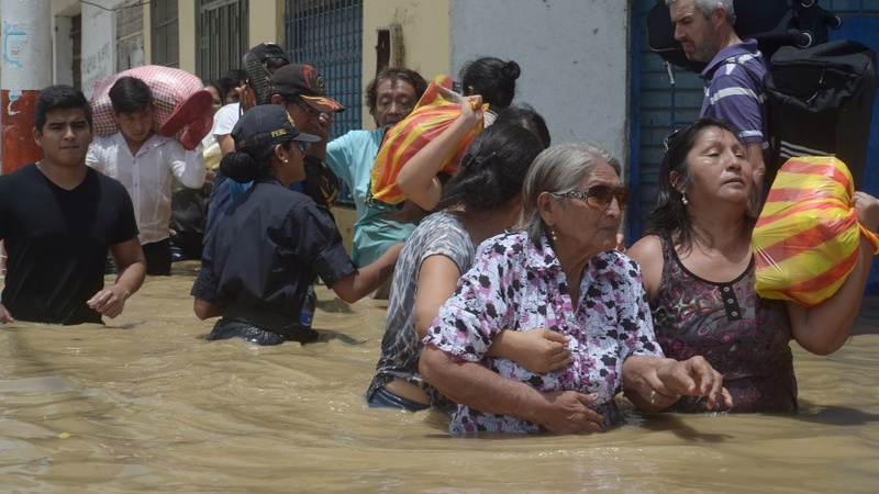 No end yet to Peru's historic flooding