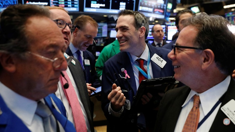 Consumer confidence surge ends Wall St. losing streak