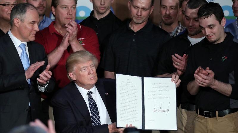 VERBATIM: EPA rules rollback a win for coal miners -Trump