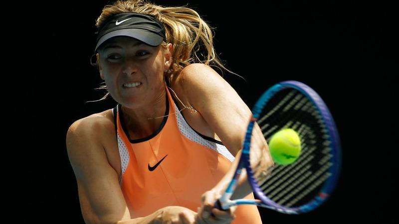VERBATIM: Sharapova: tennis ban 'was difficult'