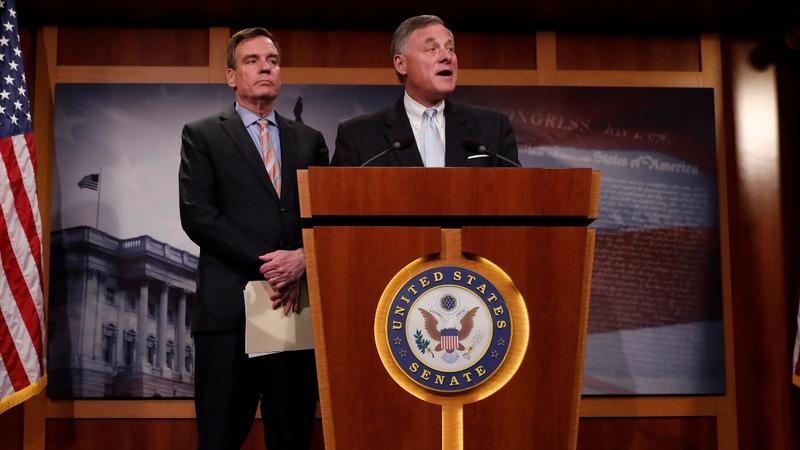 VERBATIM: Burr, Warner promise thorough Russia probe