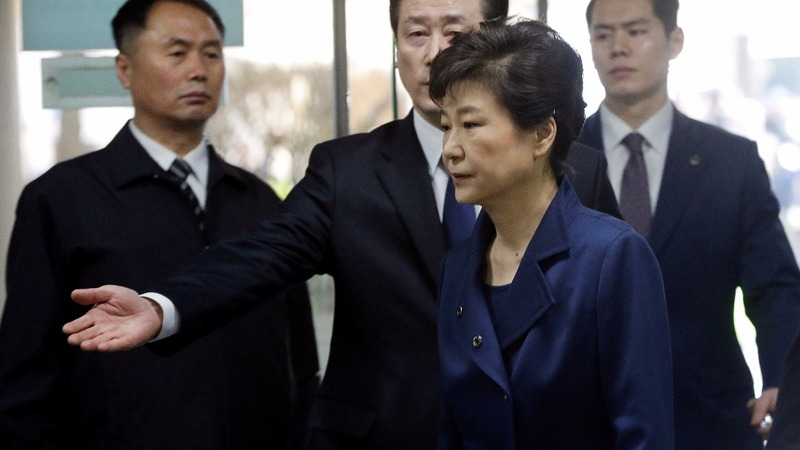 South Korea's ousted president Park faces court