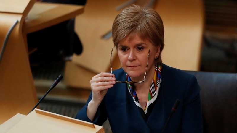 Sturgeon signs letter demanding independence vote