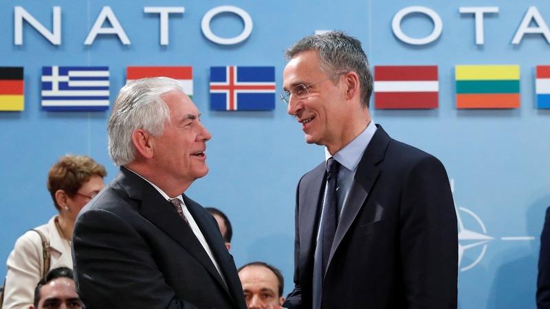 VERBATIM: NATO trans-atlantic bond 'rock solid'
