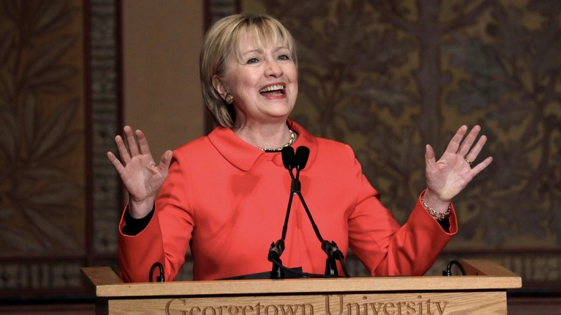 VERBATIM: Clinton blasts Trump's proposed State Department cuts