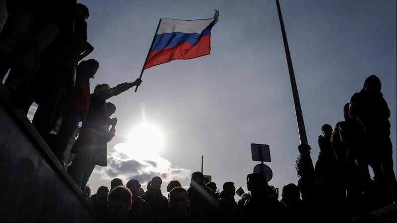 Generation born under Putin finds voice in protest