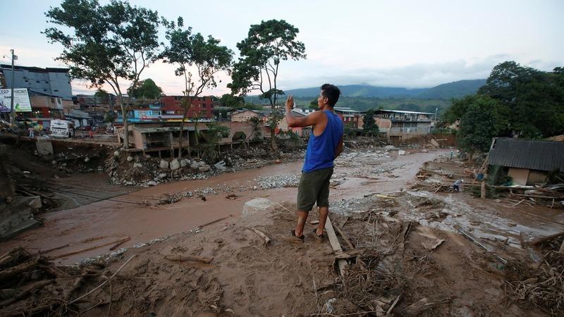 Over 200 killed in Colombian landslide