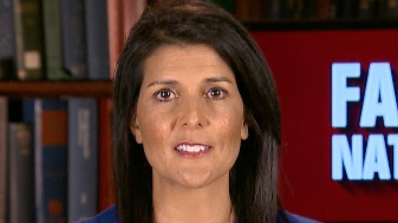 VERBATIM: Trump-Russia probe 'D.C. chatter' - Haley