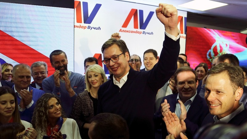 Russia-Western balance endures Serbian election