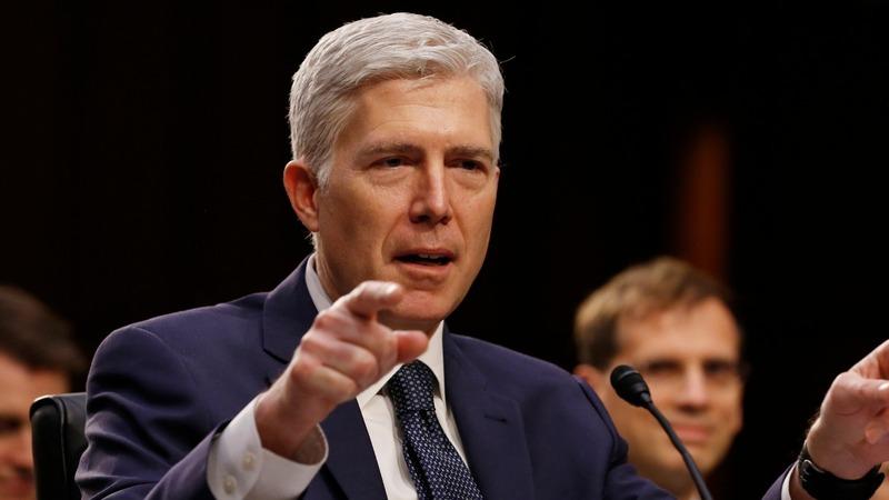 Gorsuch to wield tie-break muscle on U.S. high court