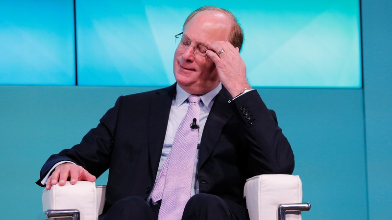 Larry Fink: stock market cheerleader turns cautious