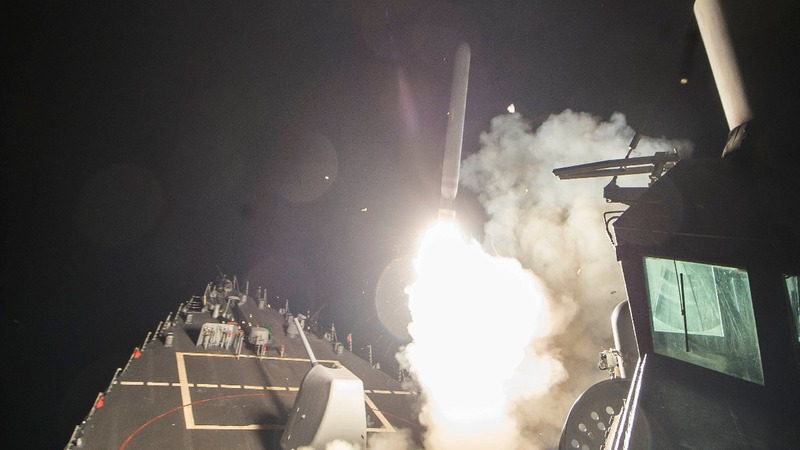 Trump launches military strike on Syrian airbase