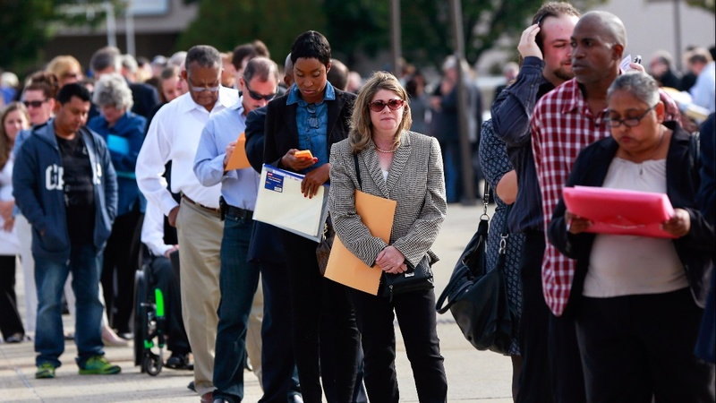 Hiring slows to 10-month low
