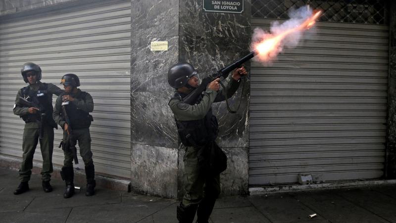 Anti-government protests turn violent in Venezuela