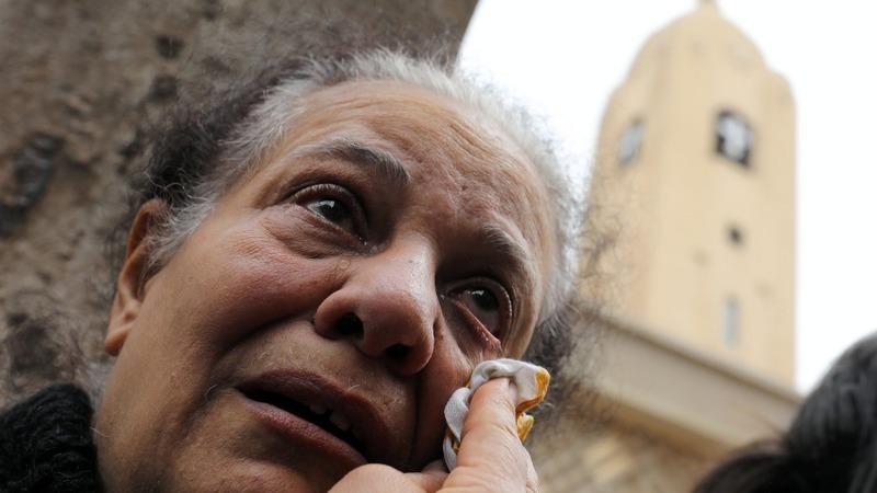 Palm Sunday bombings hit Egyptian churches