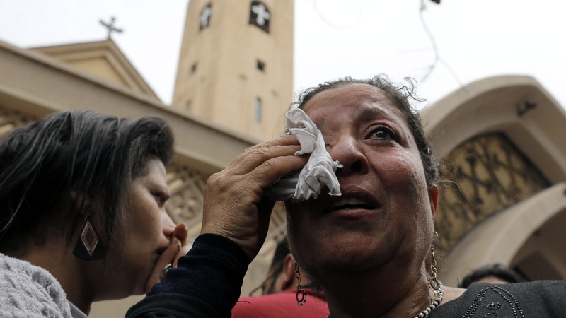 Dozens killed in two church bomb attacks in Egypt