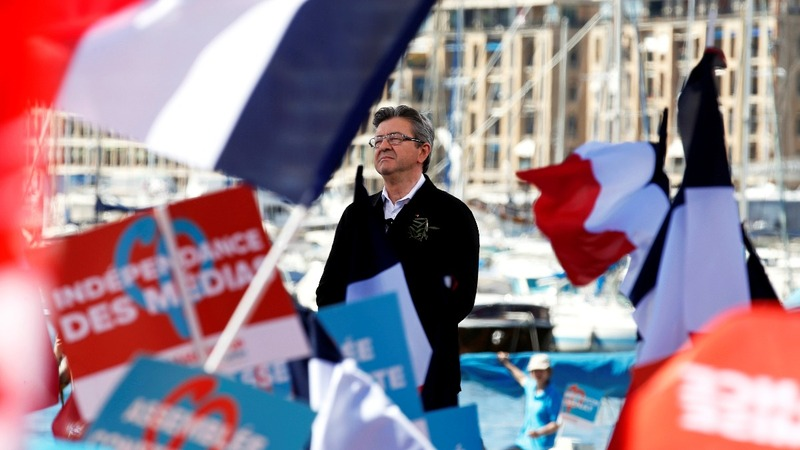 Leftist makes late surge in French poll