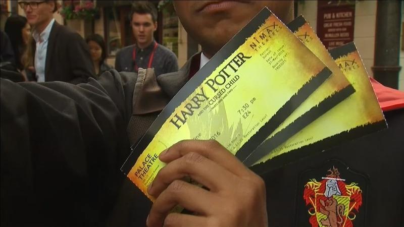 'Harry Potter' casts a spell at Olivier Awards